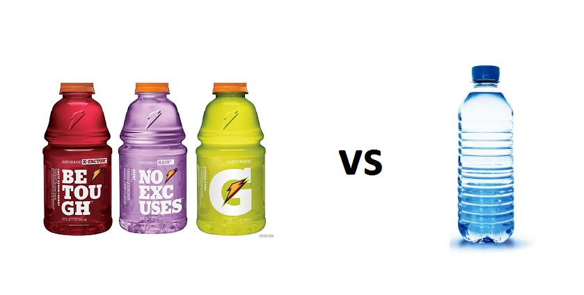 gatorade rather than water