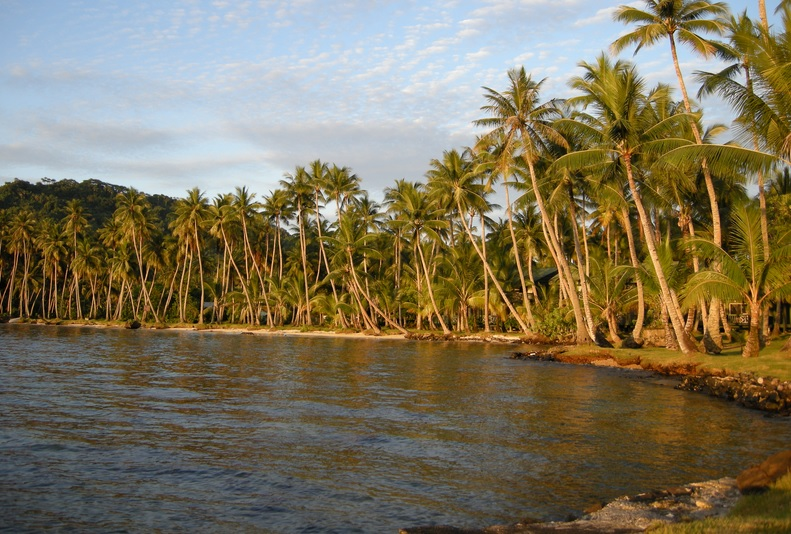 Palm-lined shorelines figure prominently in many of the top destinations in Micronesia