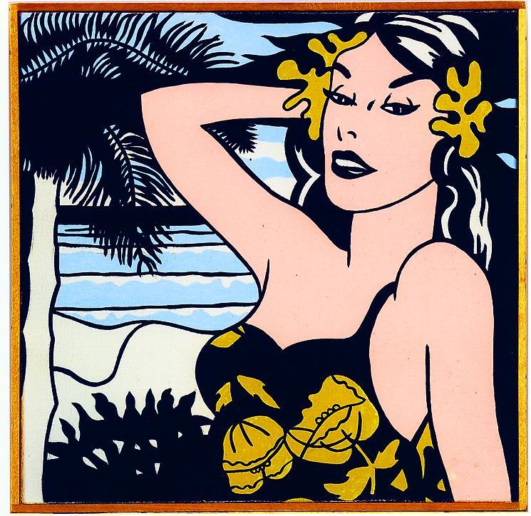 Roy Lichenstein's Little Aloha was one of Ileana Sonnabend's best acquisitions...
