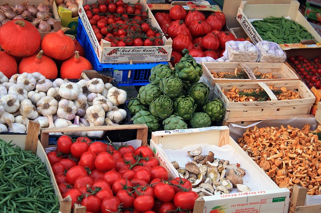 Local produce and food markets are at the heart of the ethos behind UK ethical trading