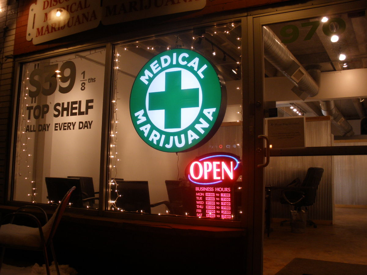 While recent developments in Colorado seem like big events in the history of marijuana cultivation, the drug had been widely accepted prior to the 20th century in America ... photo by CC user O'Dea on wikimedia