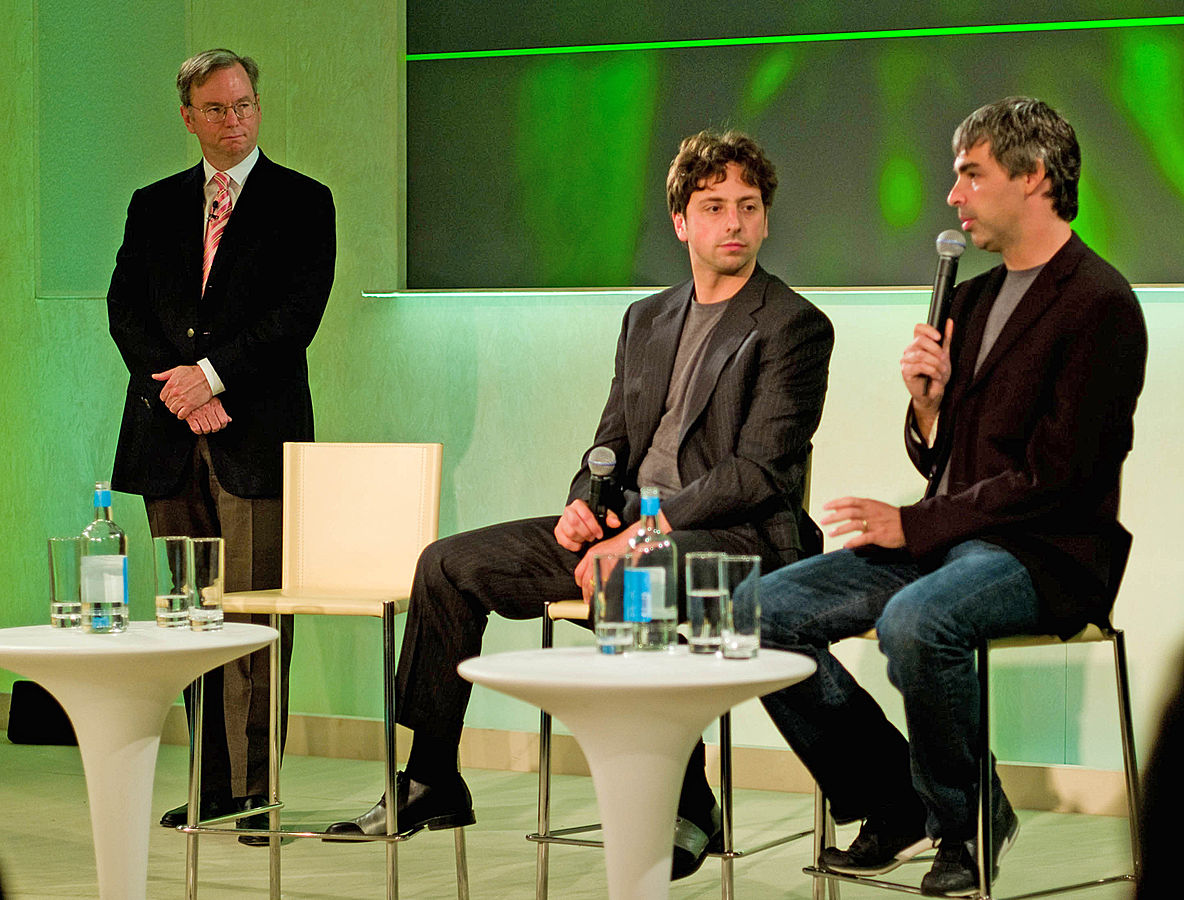 Sergey Brin and Larry Page of Google are perfect examples of the Self-made entrepreneurs that are taking the world by storm these days ,... photo by CC user 35034362831@N01 on flickr